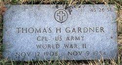 Thomas H Gardner