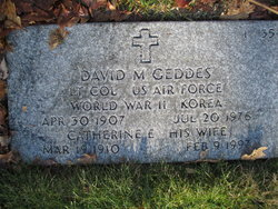 David M Geddes