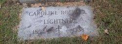 Mary Caroline <I>Doebler</I> Lightner