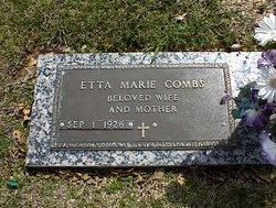 Etta Marie <I>Ranne</I> Combs