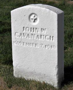 PVT John W Cavanaugh