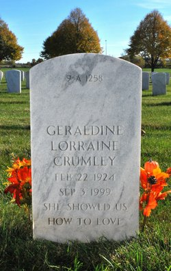 Geraldine Lorraine <I>Young</I> Crumley
