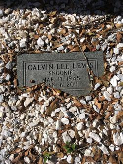 """Calvin Lee """"Snookie"""" Lewis"""