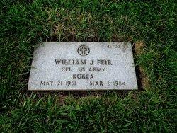 William J Feir