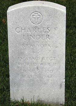 PFC Charles F Linder