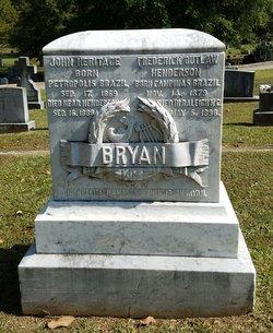 John Heritage Bryan III