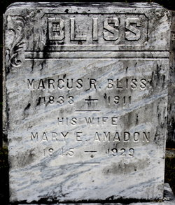 Mary E <I>Amadon</I> Bliss