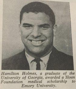 Dr Hamilton E. Holmes