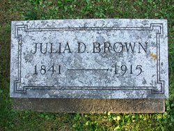 Julia D Brown