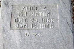 Alice Sue <I>Adams</I> Ellington