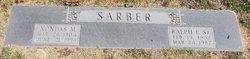 Ralph E Sarber, Sr