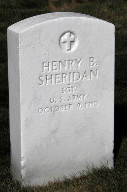 SGT Henry B Sheridan