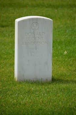 Donald E Albertson