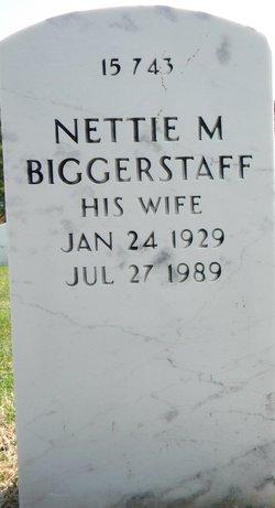 Nettie M Biggerstaff