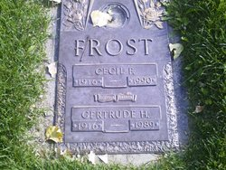 Gertrude H Frost