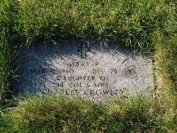 Mary P Crowley