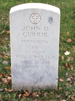 John Dewey Currie