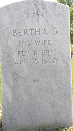 Bertha B Curry