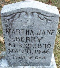 Martha Jane <I>Holcomb</I> Berry