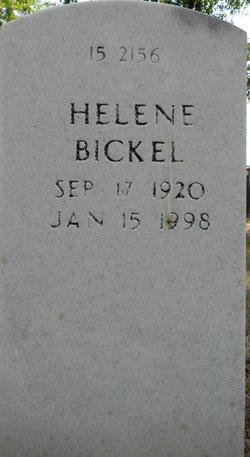 Helene Emily <I>Bauer</I> Bickel