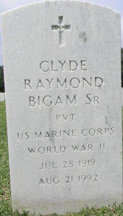 Clyde Raymond Bigam, Sr