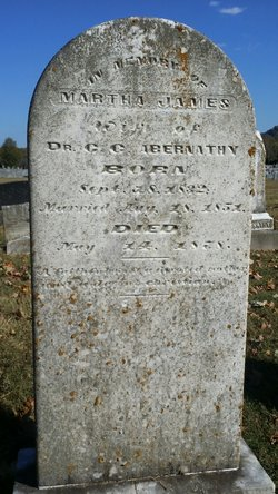 Martha James <I>Stockard</I> Abernathy