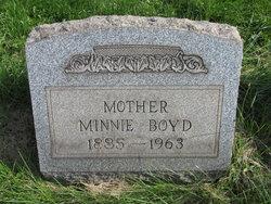 Minnie <I>Hartshorne</I> Boyd