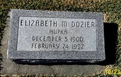 Elizabeth M. <I>Hupka-Zielinski</I> Dozier