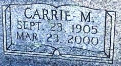 Carrie Jane <I>Morrison</I> Earhart