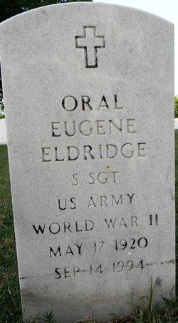 Oral Eugene Eldridge