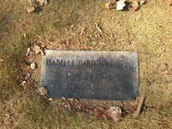 Isabelle <I>Carithers</I> Hunt