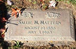 Sallie Maude <I>Gault</I> Mattern