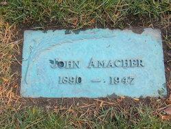 PFC John Amacher