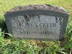 Selma Pickett <I>Schermerhorn</I> Cryer