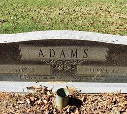 Laura Eunice <I>Alexander</I> Adams