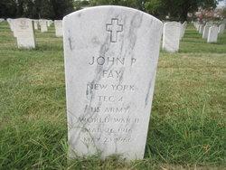John P Fay