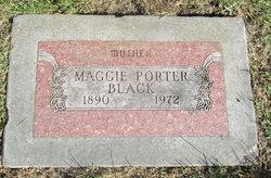 Maggie <I>Porter</I> Black