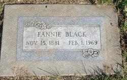 Fannie <I>Fuller</I> Black