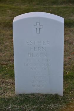Esther Fern <I>Harney</I> Black