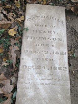Catherine <I>Bell</I> Thomson