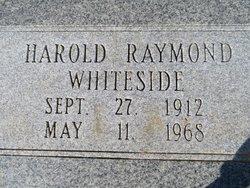 Harold Raymond Whiteside