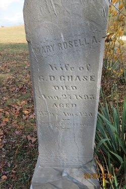 Mary Rosella <I>Stout</I> Chase