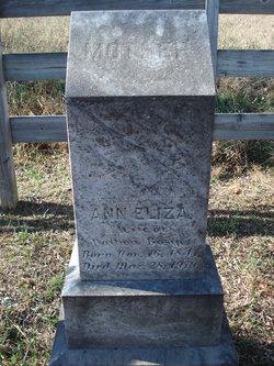 """Eliza Ann """"Elizabeth"""" <I>Grady</I> Basye"""