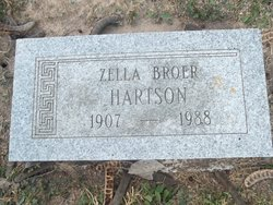 Zella <I>Broer</I> Hartson