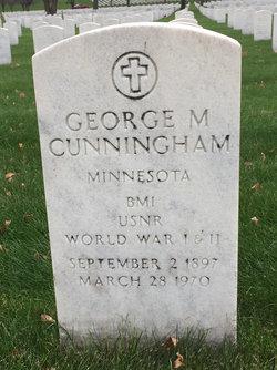 George M Cunningham