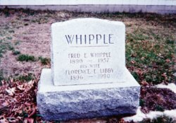 Florence <I>Libby</I> Whipple