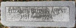 "Elizabeth Ann ""Lizzie"" <I>Baldwin</I> Ament"