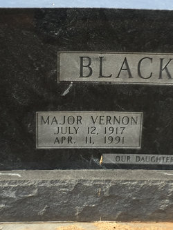 Major Vernon Blackwell