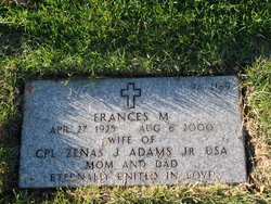 Frances M Adams