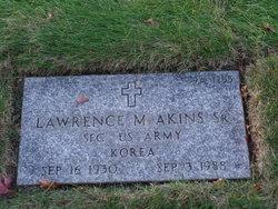 Lawrence M Akins, Sr